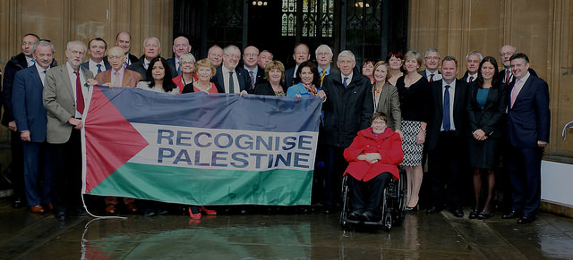 British MPs in favor of recognizing Palestine. [Labour Palestine/Flickr]
