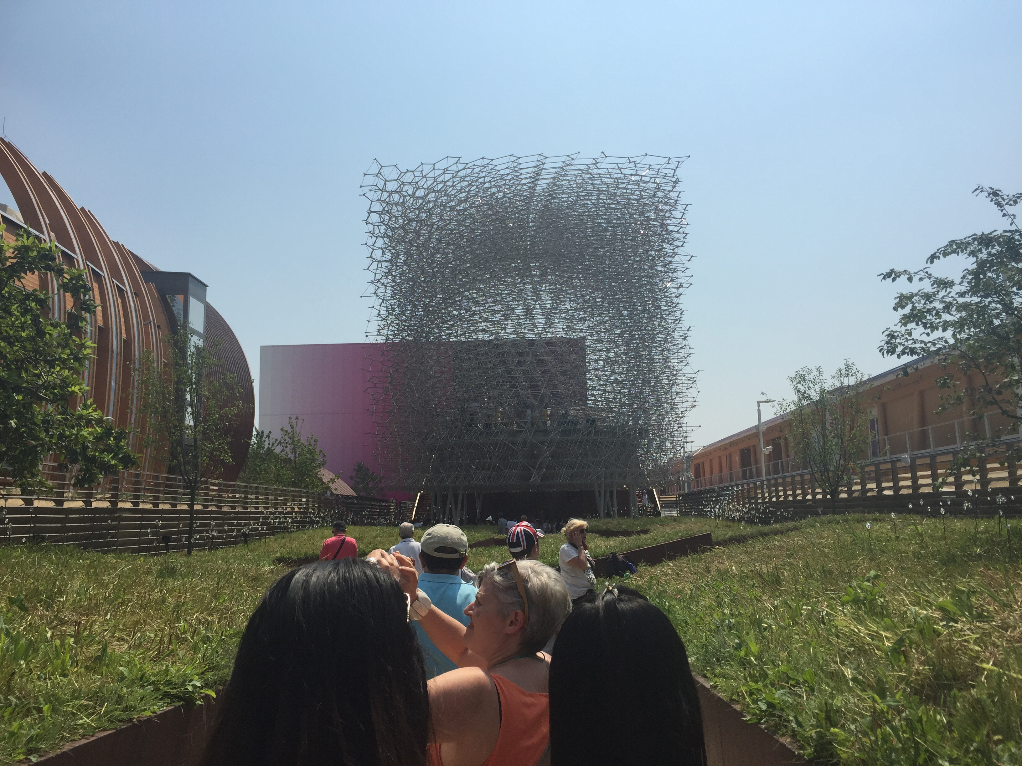 The UK pavilion.