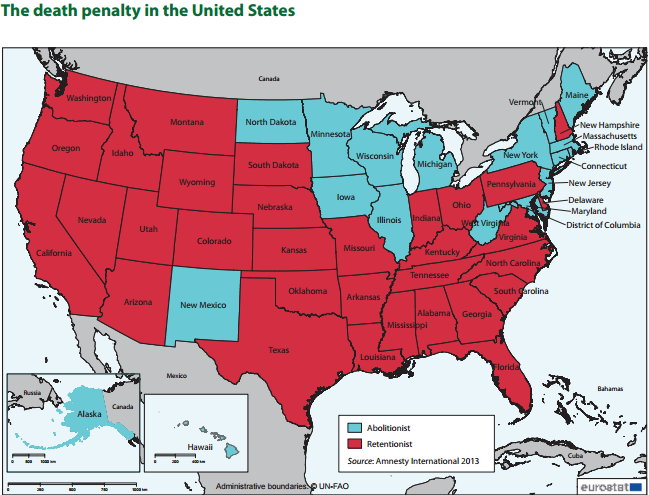 Map usa penalty Penalty Countries Map on