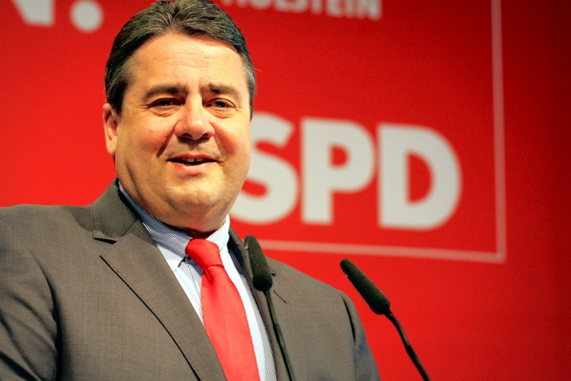 Sigmar Gabriel is Germany's federal minister of economic affairs and energy and former minister of environment. Germany 2013 [SPD Schleswig-Holstein/Flickr]