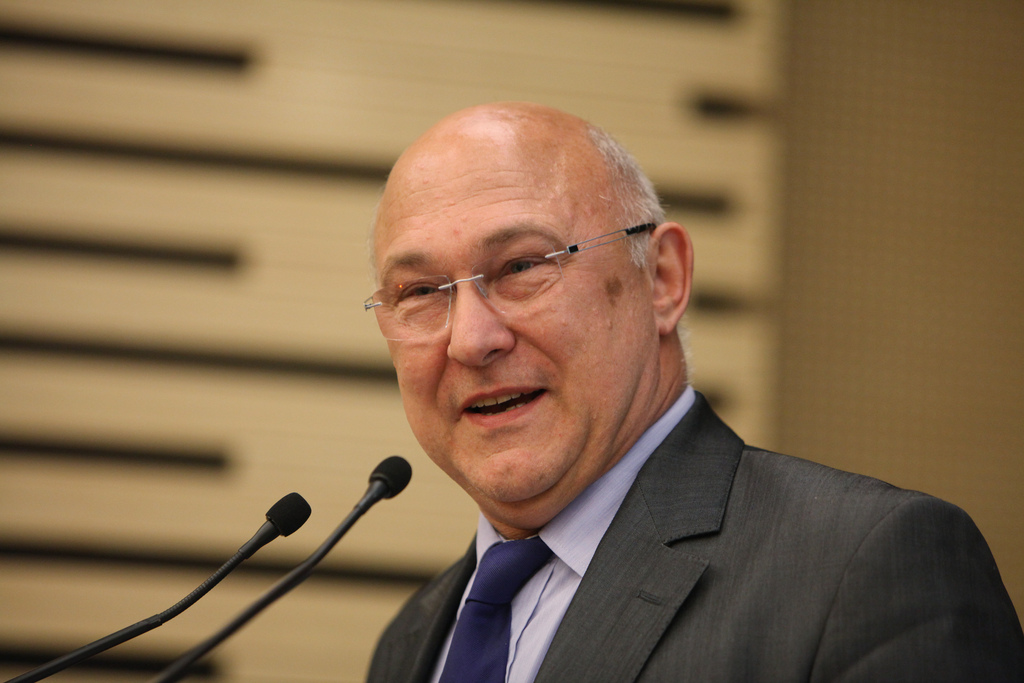 Michel Sapin, May 2013 [Parti socialiste/Flickr]