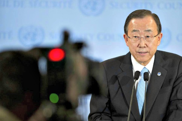 Ban Ki-Moon camera