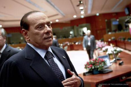 Former Italian Prime Minister Silvio Berlusconi. [The Council of the European Union]