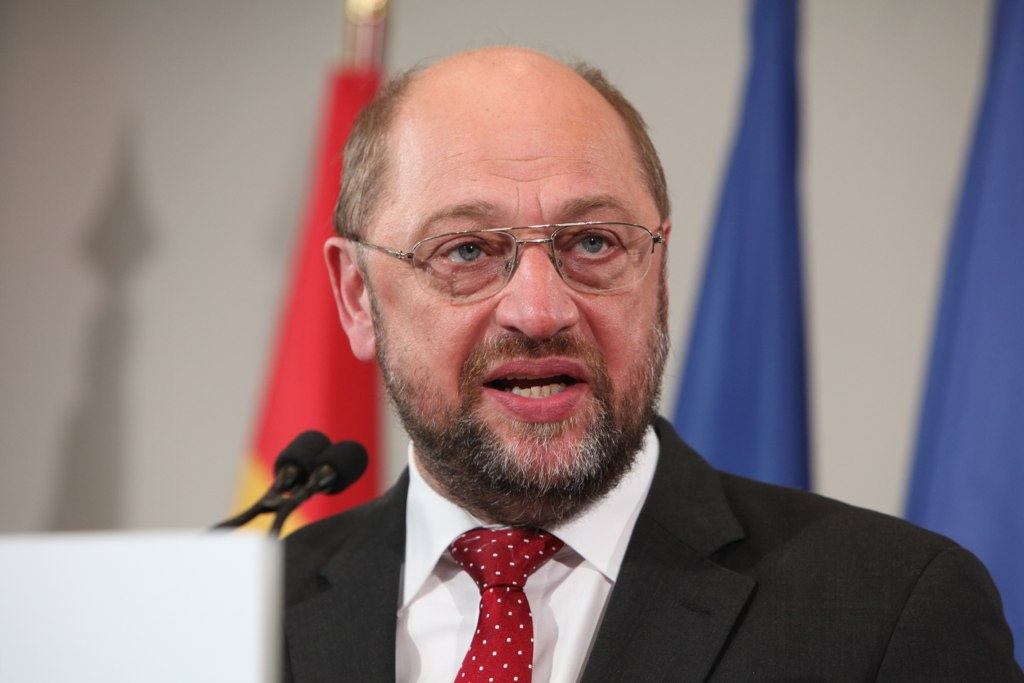 Martin Schulz received 27.2% of the votes in Germany during European elections on 25 May, 2014. [Parti socialiste]
