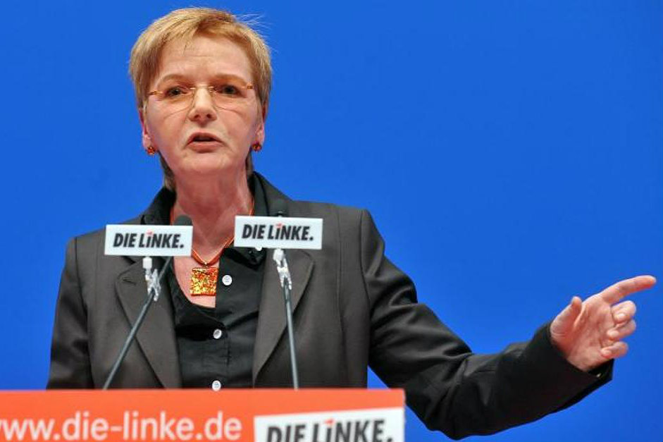 Gabi Zimmer is the top candidate for Germany's Left Party (Die Linke) in the 2014 European elections. [Gabi Zimmer]