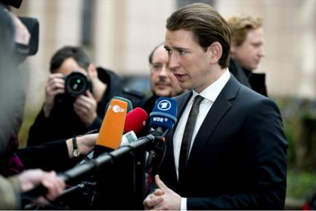 Austrian Foreign Minister Sebastian Kurz. [The Council of the European Union]