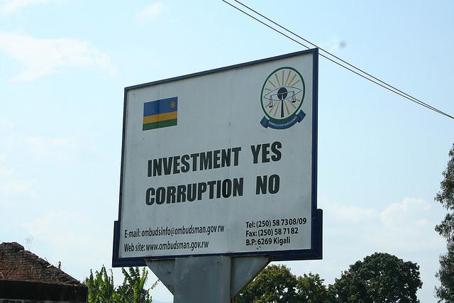 Rwanda corruption