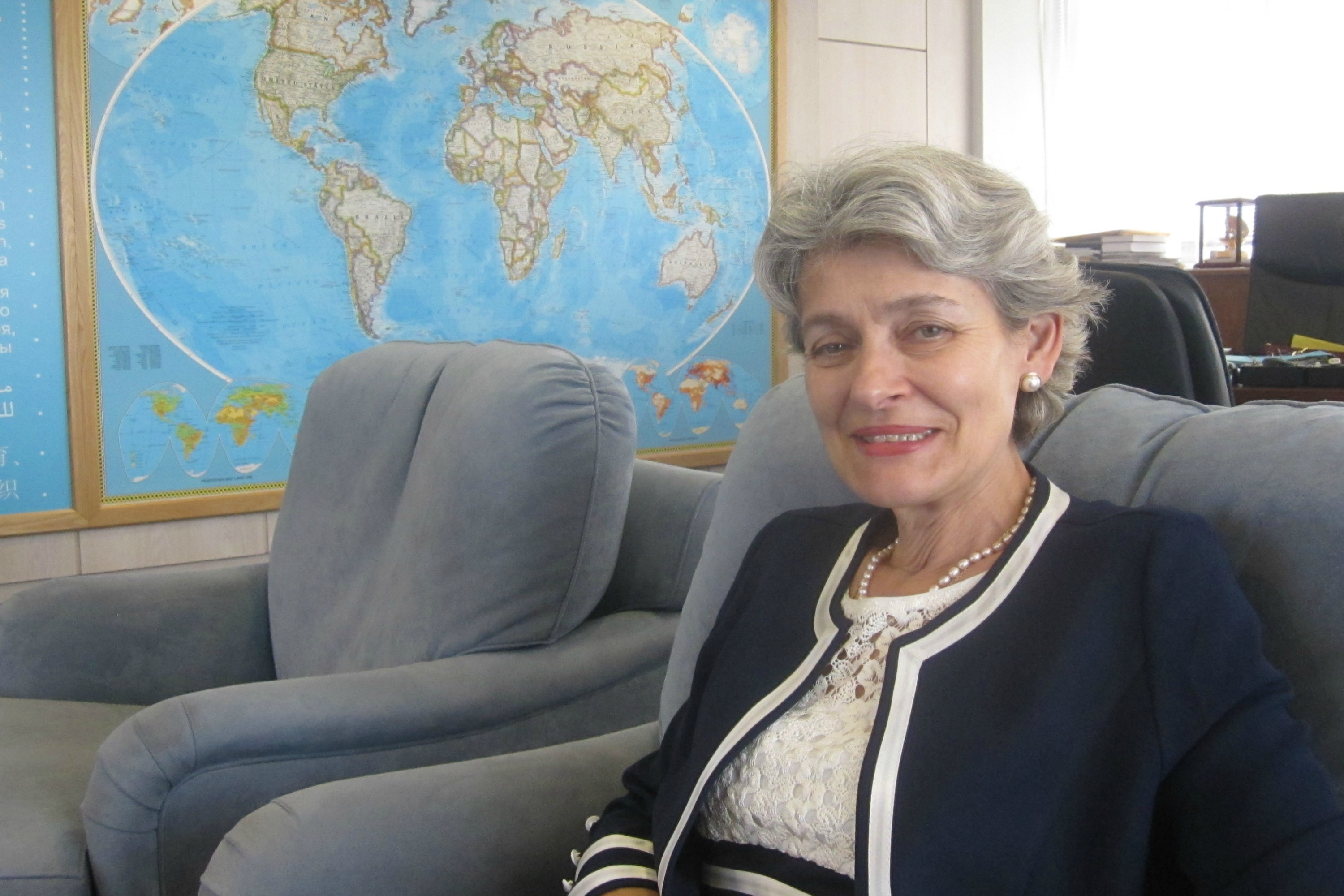 Irina Bokova, photo Georgi Gotev