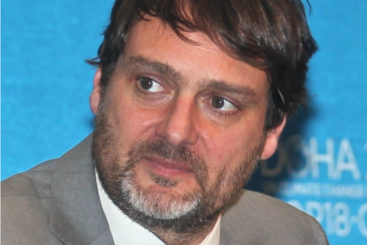 Luc Bas, Director of the Brussels office of the International Union for Conservation of Nature (IUCN) [Photo: IUCN]