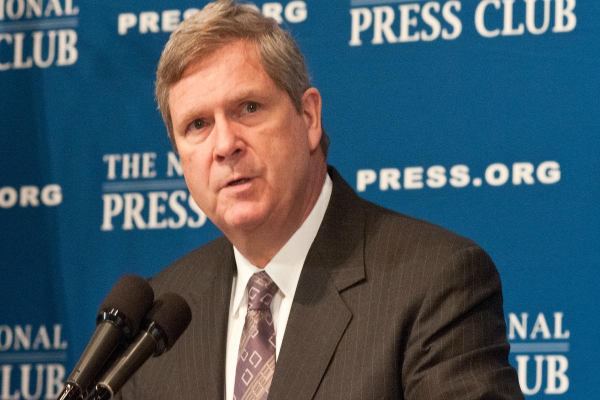 US Agriculture Secretary Tom Vilsack at the National Press Club in Washington, DC, Mon., June 13, 2011 [USDA/Flickr]