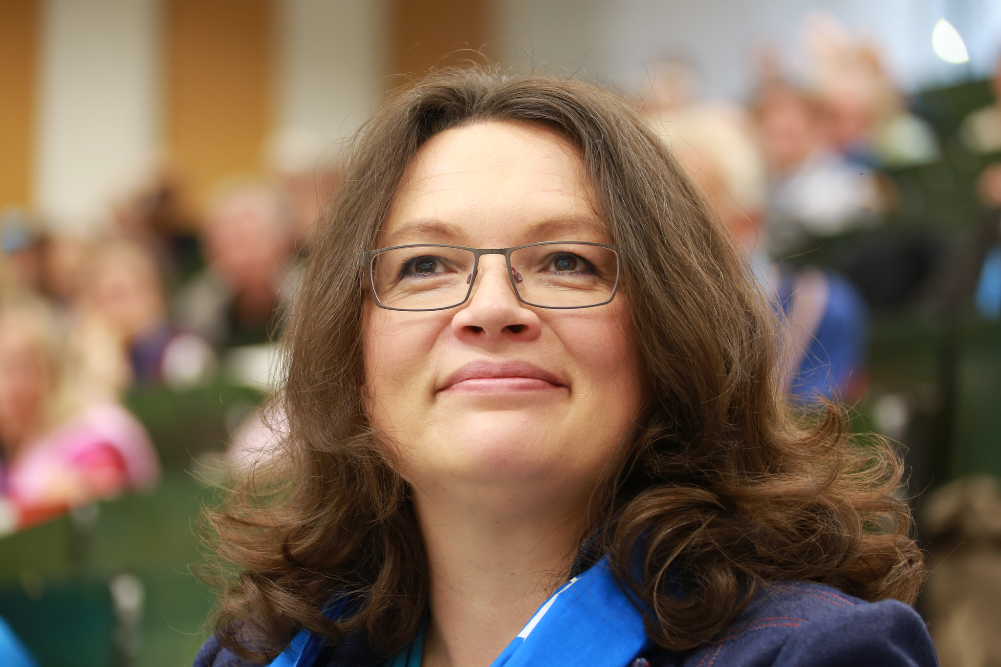 German Labour Minister Andrea Nahles (Social Democratic Party) has reason to celebrate: on Thursday (3 July) the Bundestag approved Germany's first universal minimum wage. [blu-news.org/Flickr]