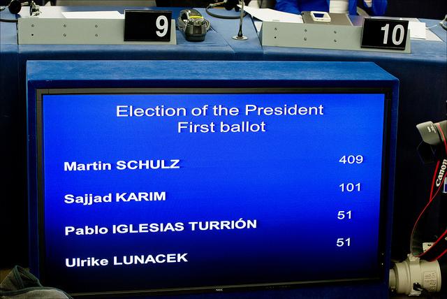 EP president vote