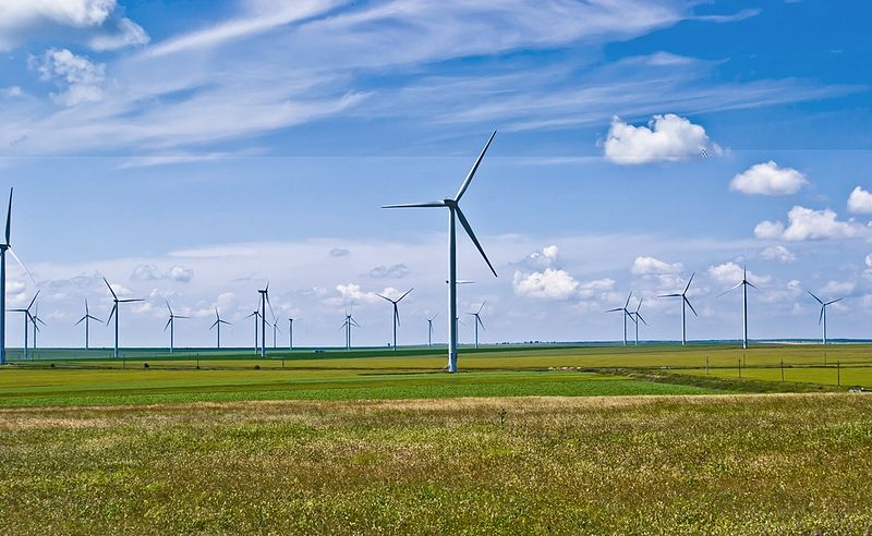 Fântânele-Cogealac Wind Farm in Romania [Sandri Alexandra. 2011]