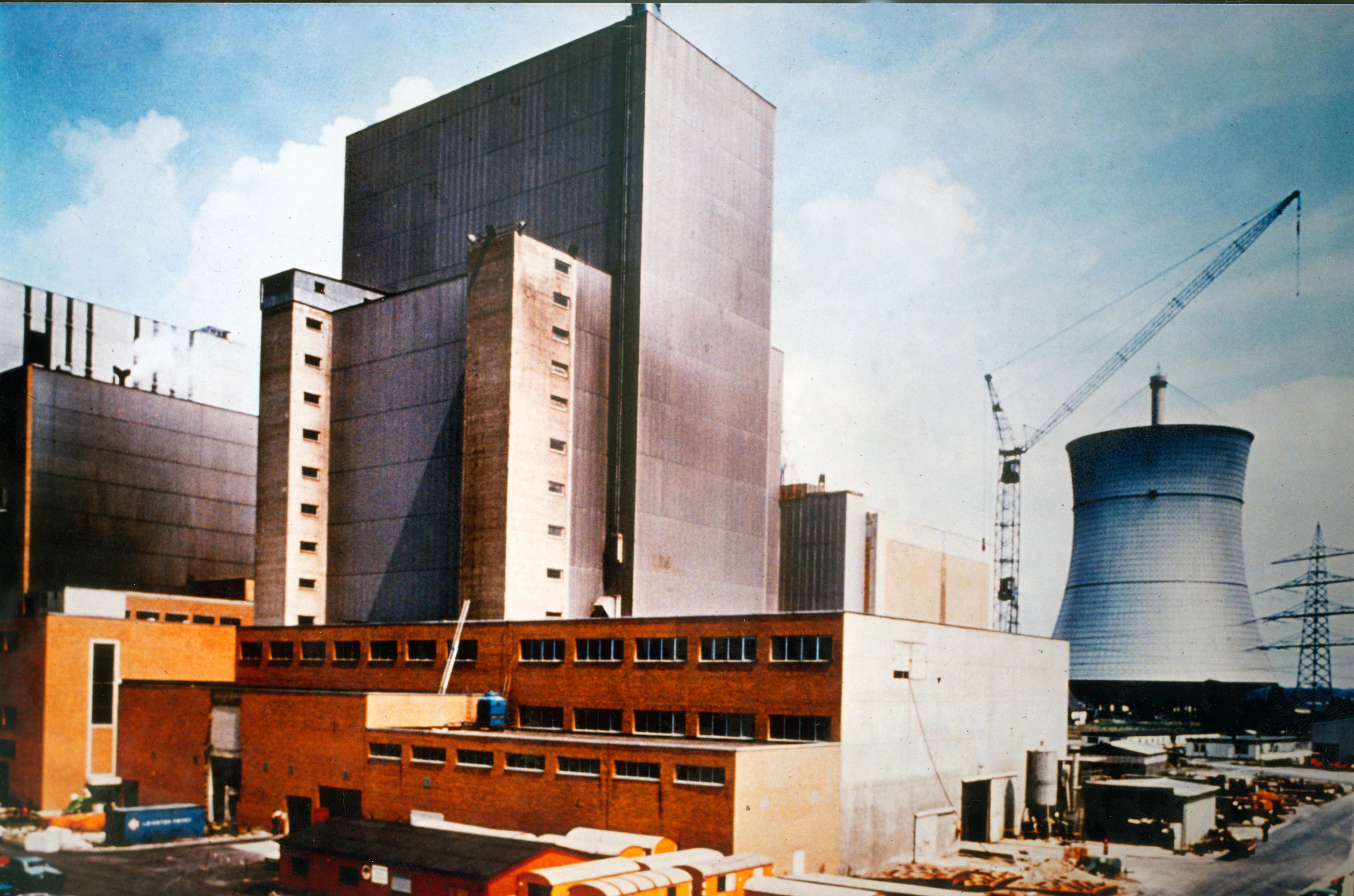 German Power Plants Nuclear Power Plant Uentrop Germany