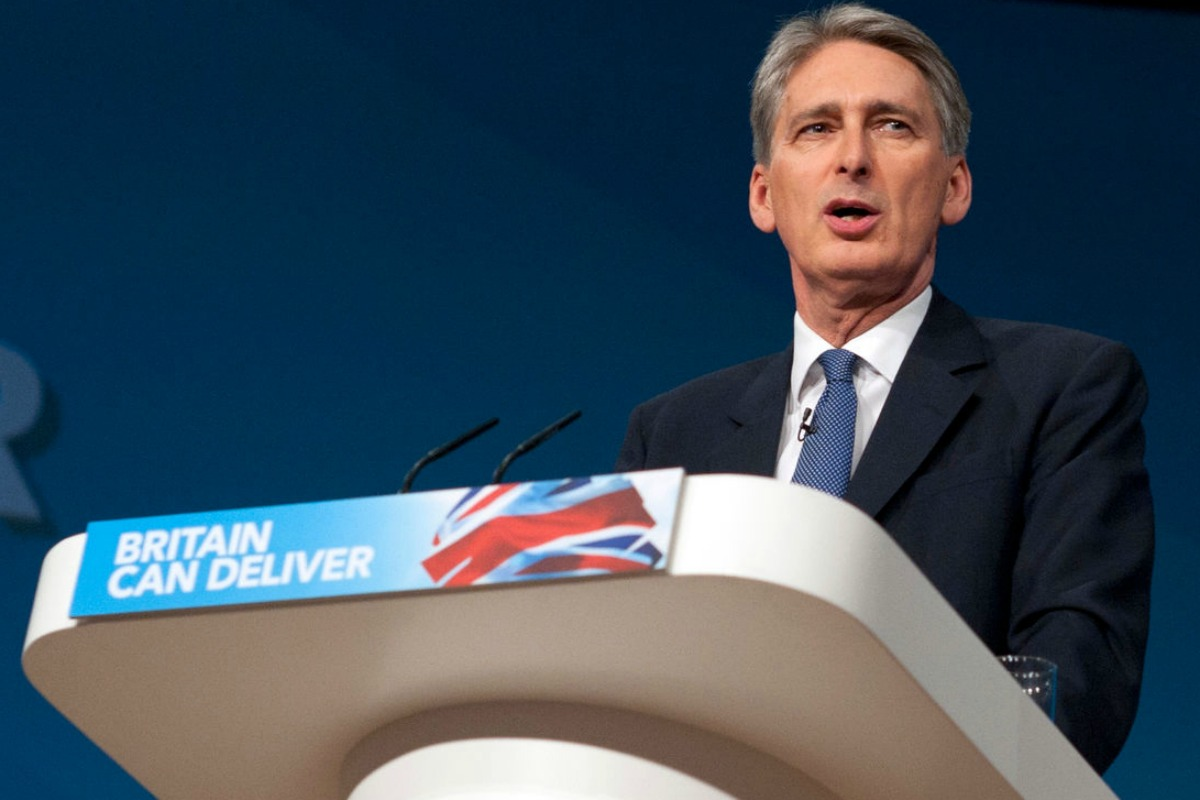 Philip Hammond speaking at Conservative Party Conference 2012 [Photo: Conservatives / Flickr]
