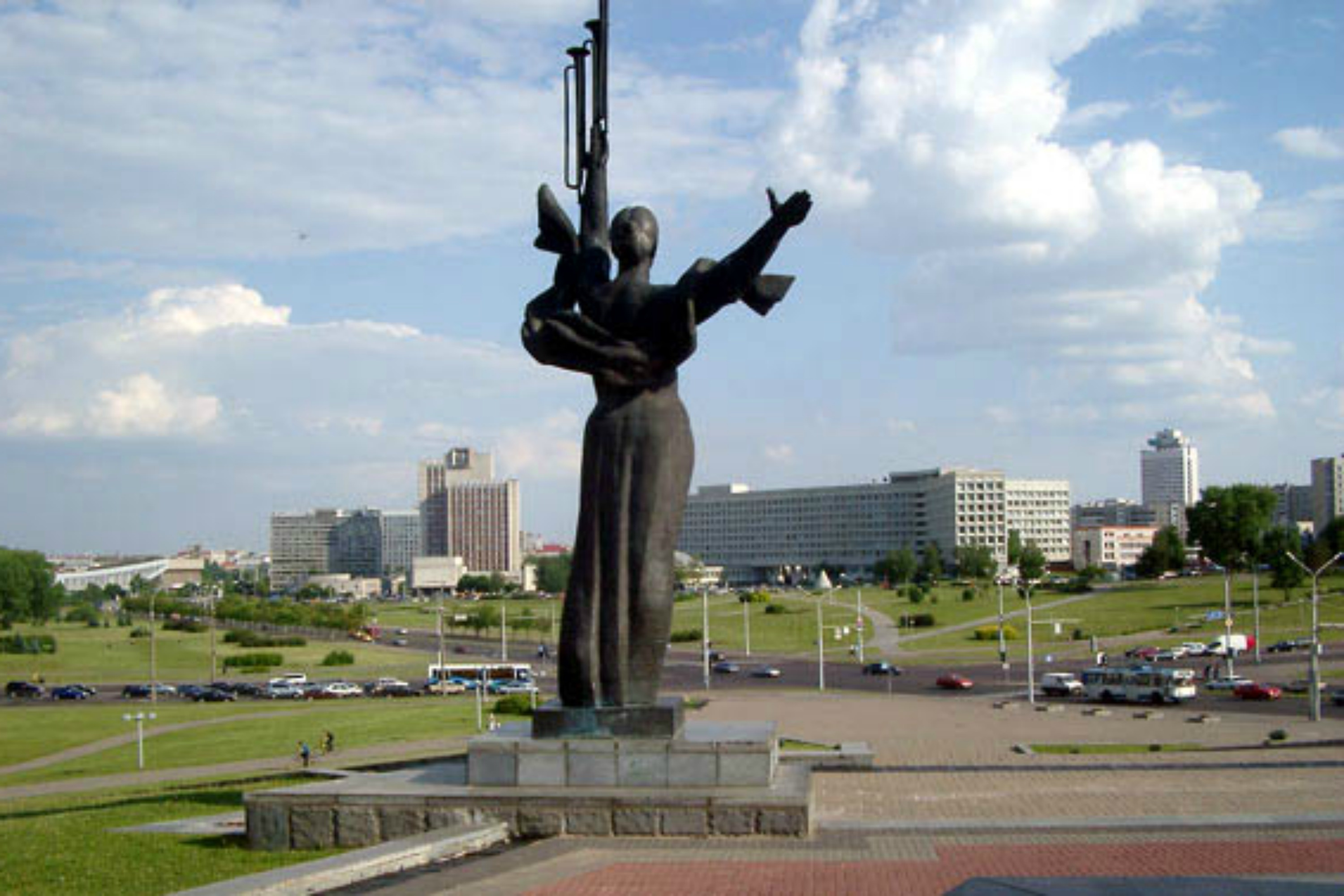 A view of Minsk. Photo: Minsk travelguide