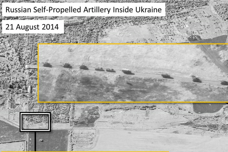 A NATO satellite image [NATO]
