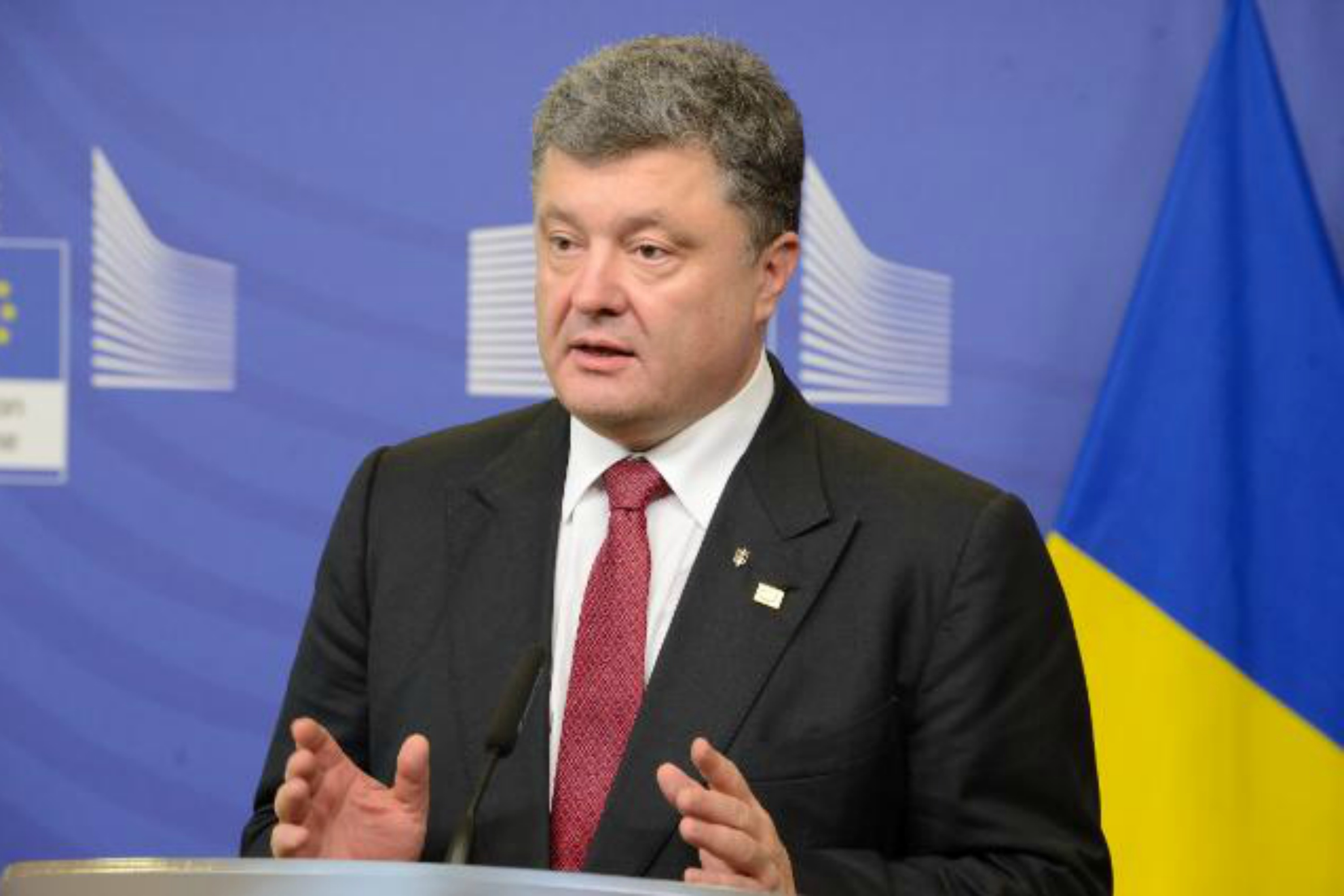 Petro Poroshenko at 30 August Council