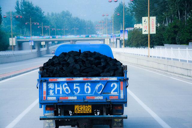 coal consuming china