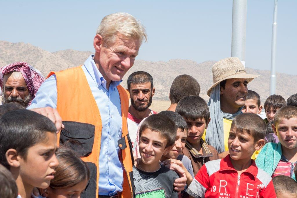Jan Egeland, General Secretary at Norwegian Refugee Council