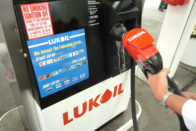 "Lukoil officials ""shocked"", but the company's filling stations in U.S. ""not to be affected"" [Lukoil]"