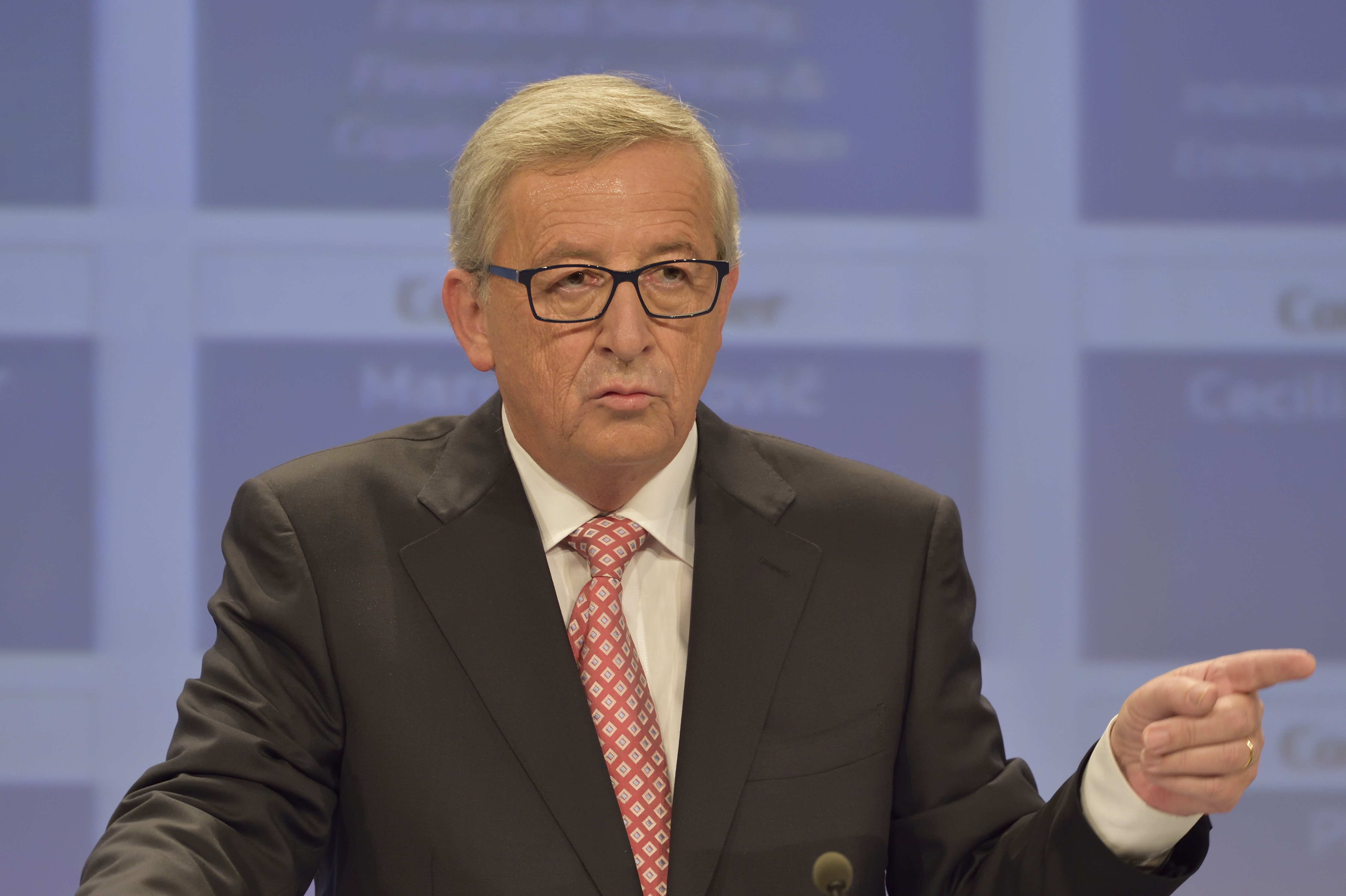Despite predictions that German Commissioner Günther Oettinger would win the coveted trade portfolio, President-elect Juncker put the former Energy Commissioner in charge of the digital agenda. Brussels, 2014 [EC]