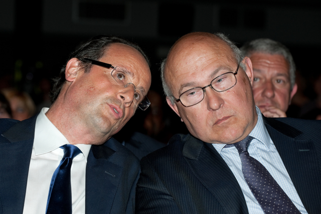 Hollande and Sapin
