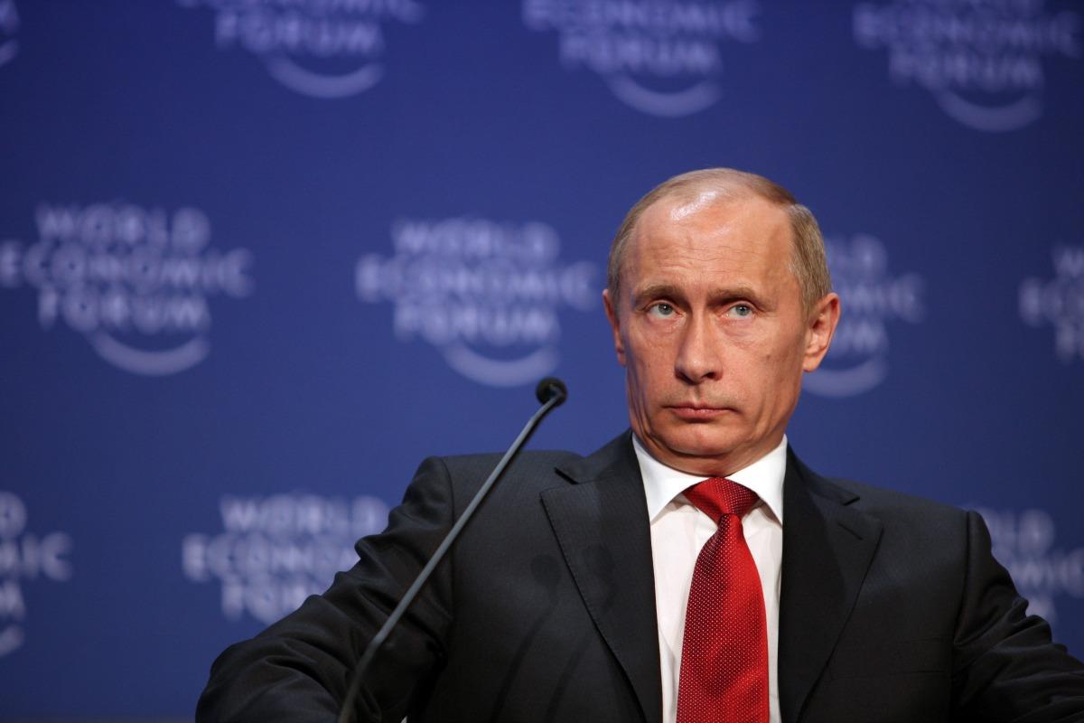 Vladimir Putin at the World Economic Forum Annual Meeting Davos 2009 [Flickr/World Economic Forum]