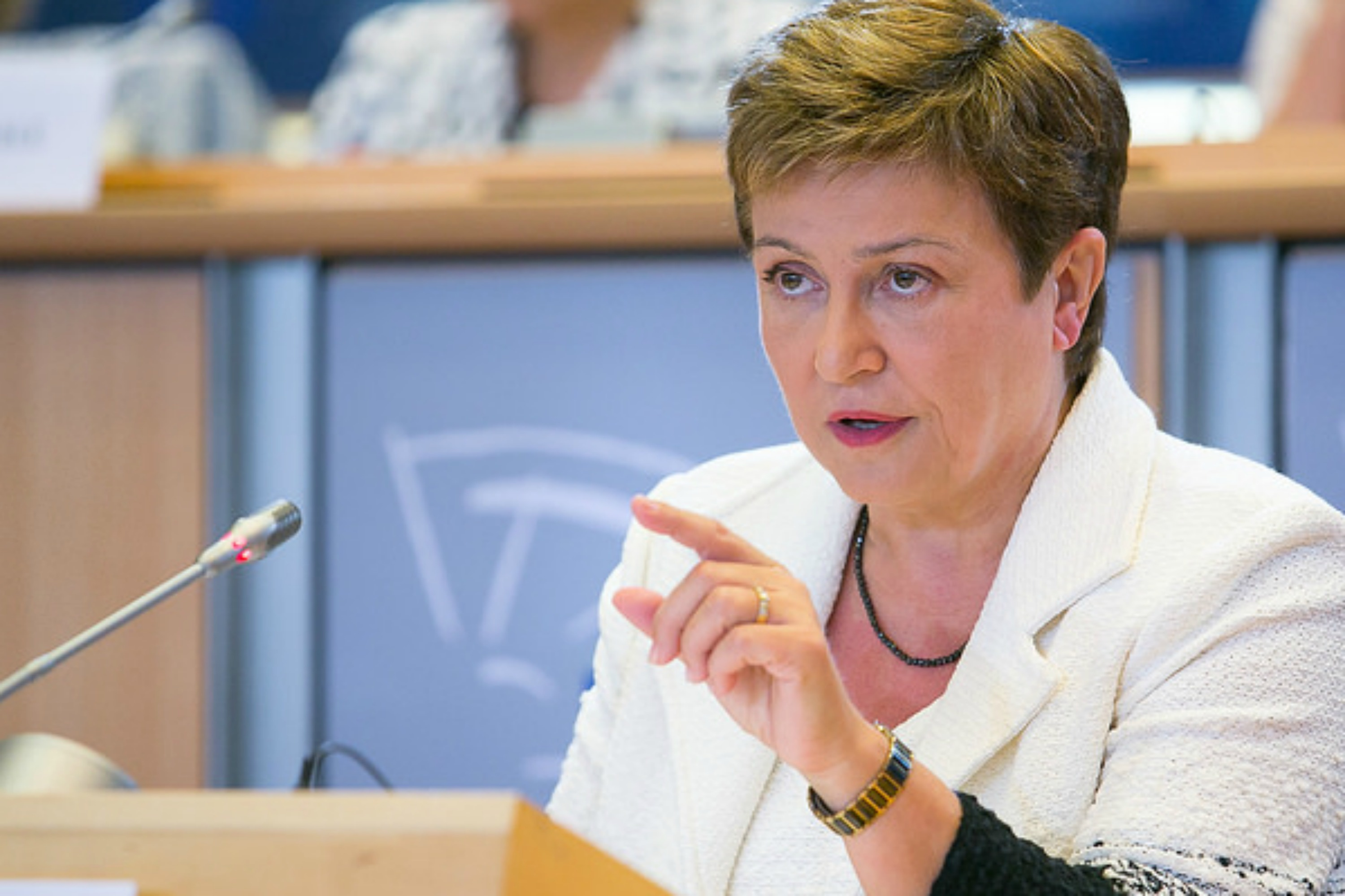 Kristalina Georgieva at her hearing