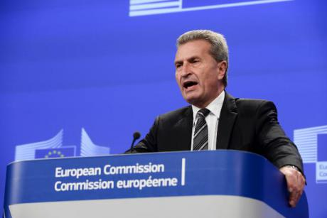 EU Commissioner of the Digital Economy and Society, Günther Oettinger. [EC]