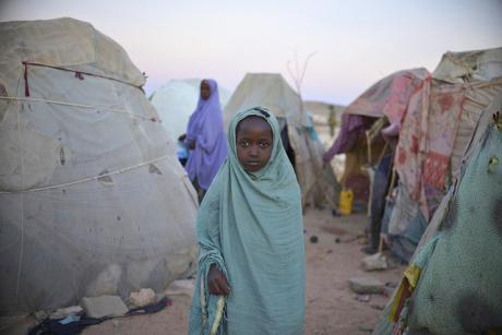 A refugee camp near Belet Weyne, Somalia. [UN Photo]