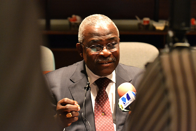 Kanayo F. Nwanze is President of the International Fund for Agricultural Development (IFAD). [C. Schubert/Flickr]