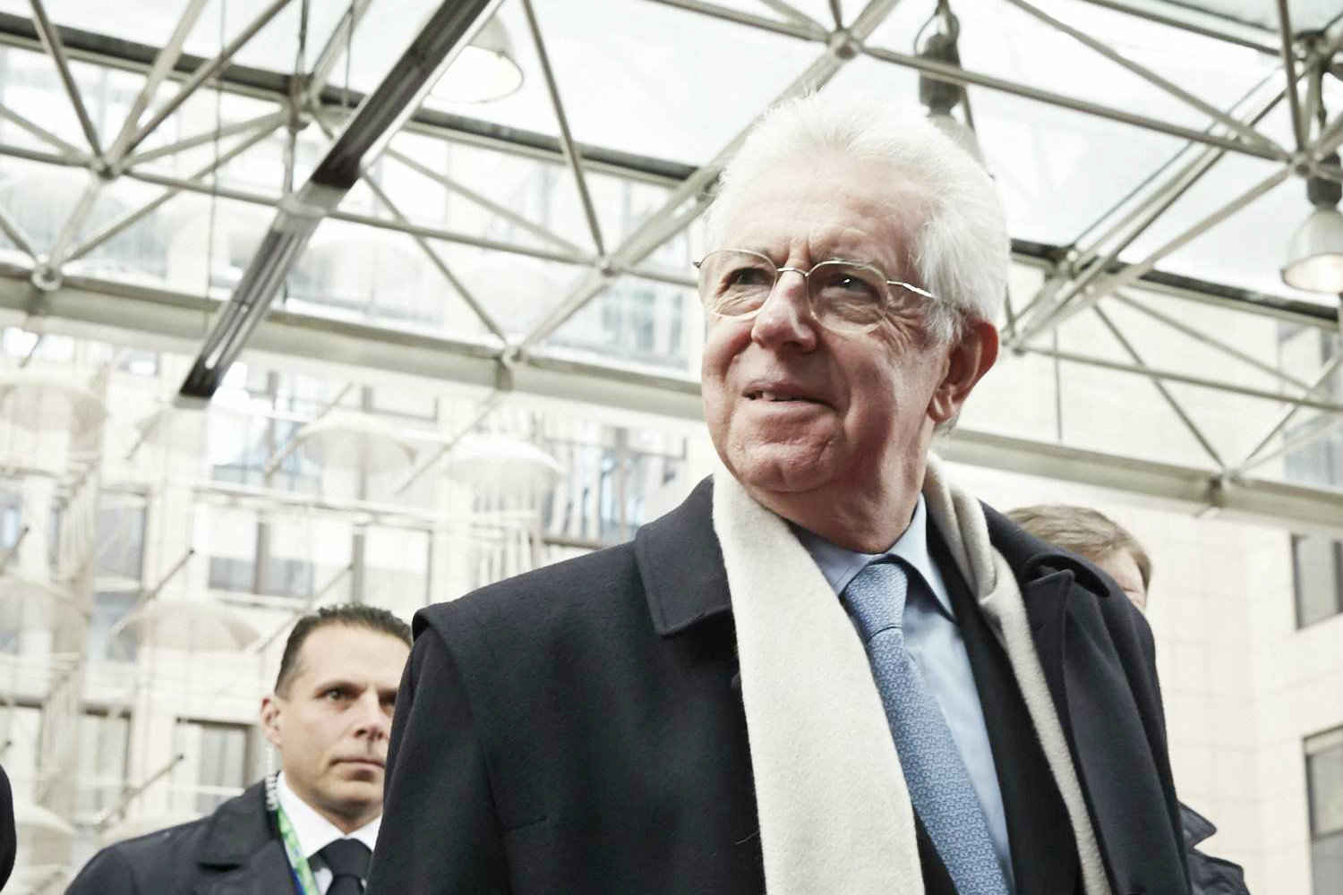 Former Italian Prime Minister Mario Monti. 2013 [The Council of the European Union]