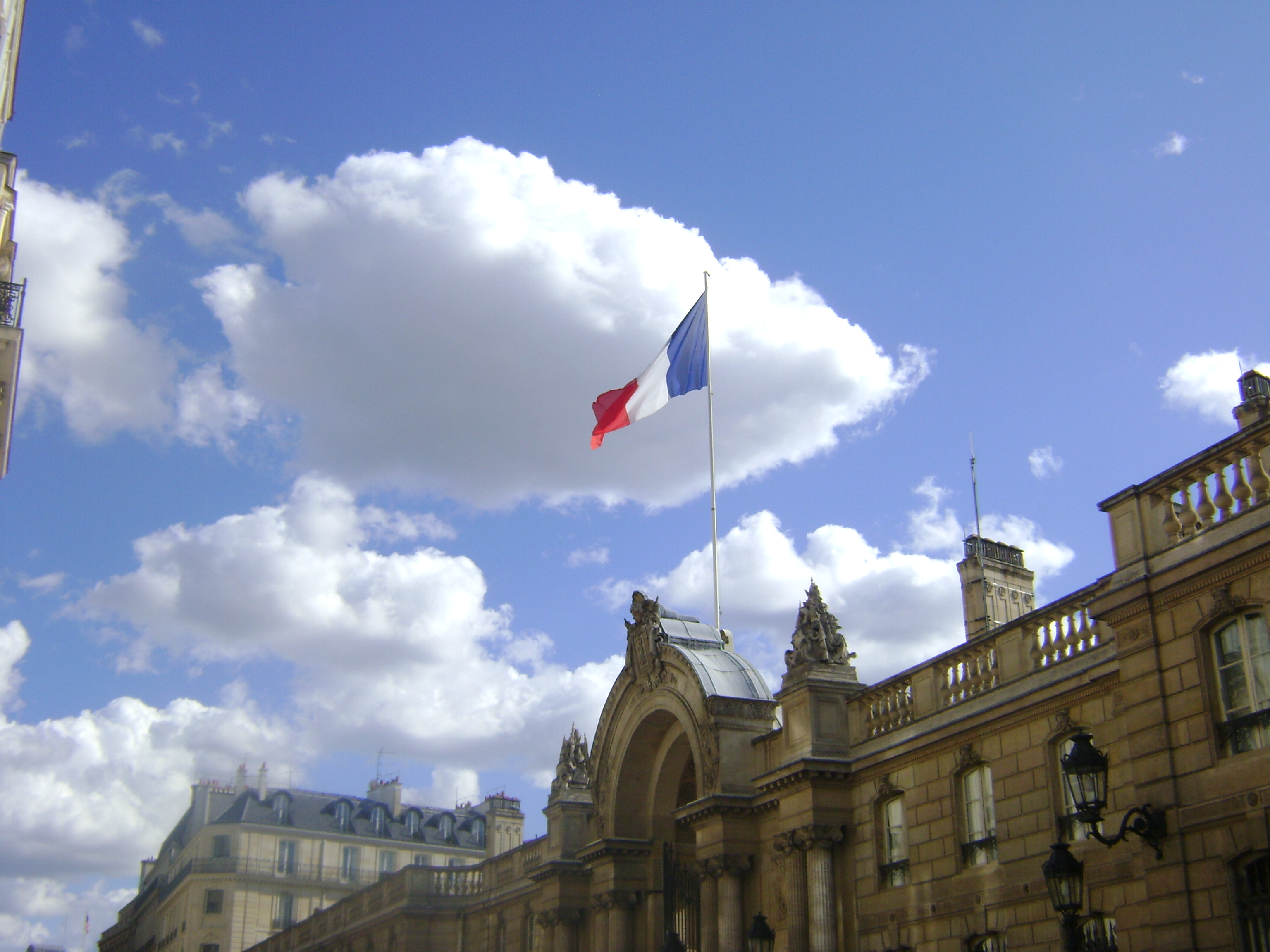 The Elysée Palace in Paris, seat of the French President.