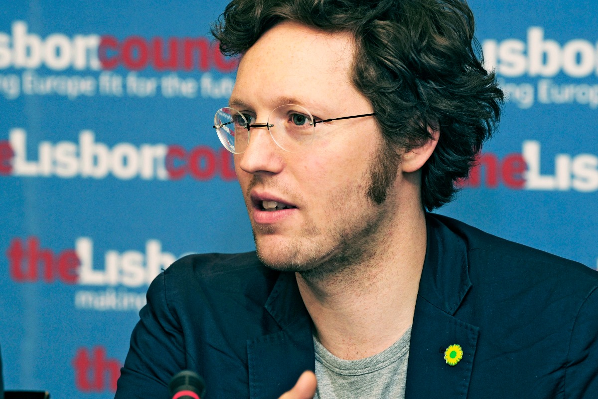 Jan Philipp Albrecht, member of the European Parliament (Greens/EFA)