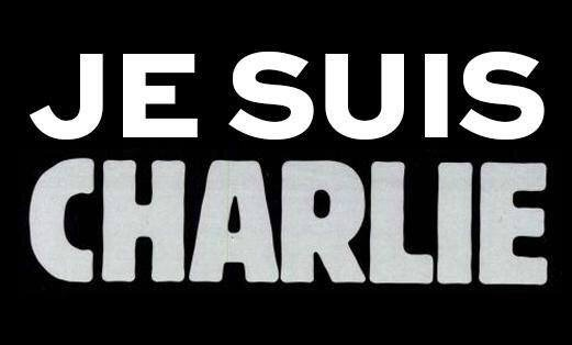 """I am Charlie"", the slogan of solidarity."