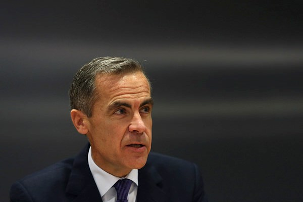 Mark Carney at the Financial Stability Report Press Conference - December 2014. [Copyright: Chris Ratcliffe, Bloomberg]