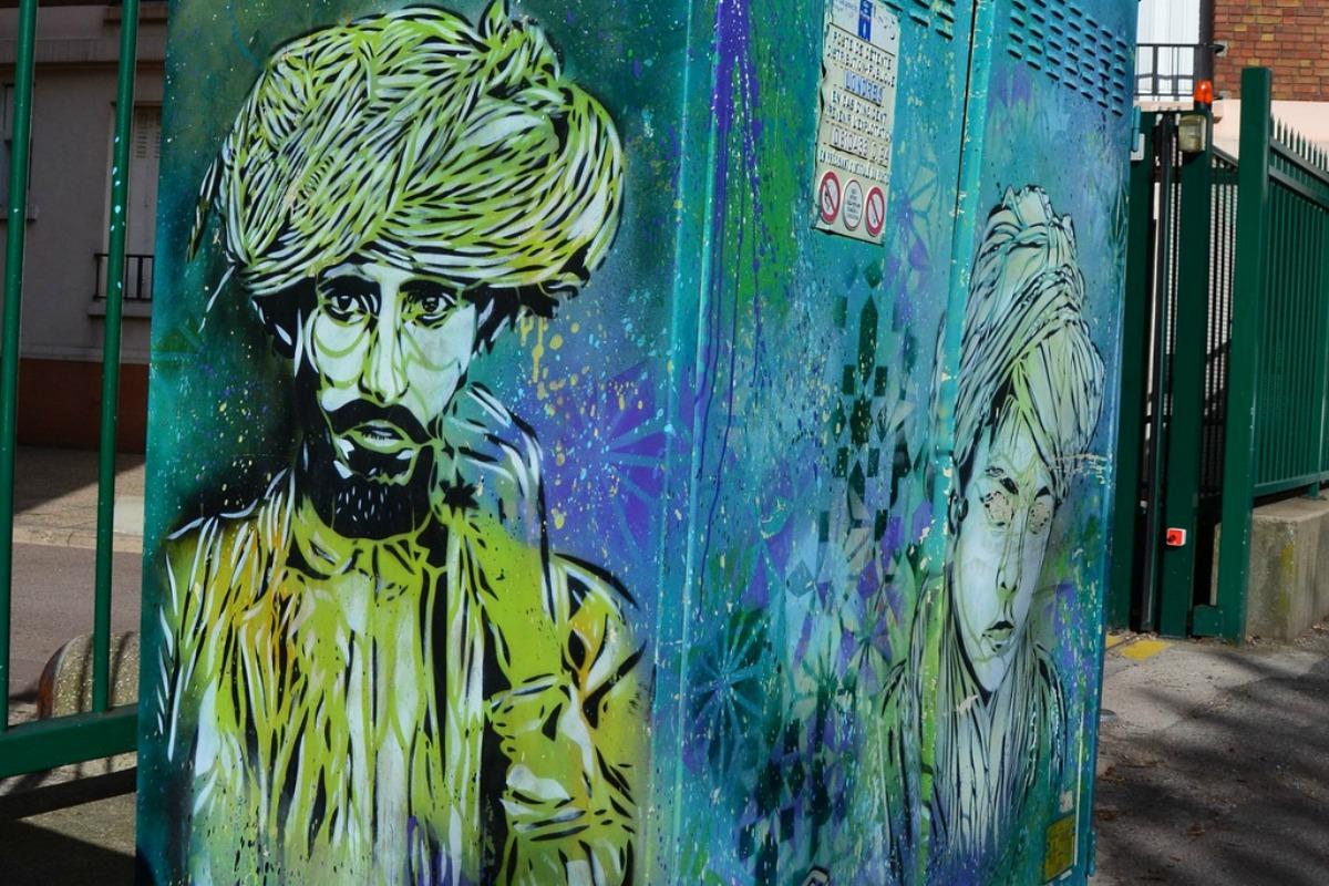 Street art Vitry-sur-Seine, C215, banlieue Paris, October 13, 2014