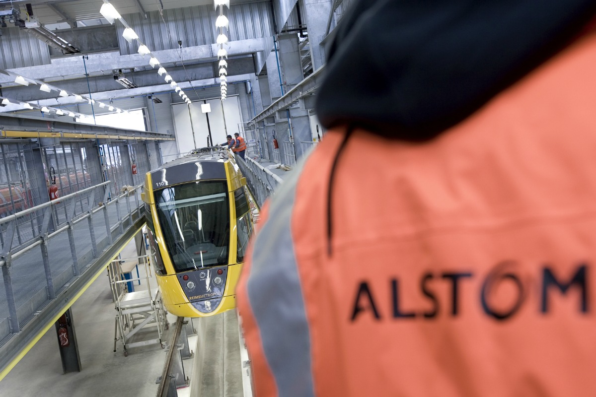 Reims Tramway at the depot and in test [Copyright: Alstom Transport / TOMA – P.Eranian]