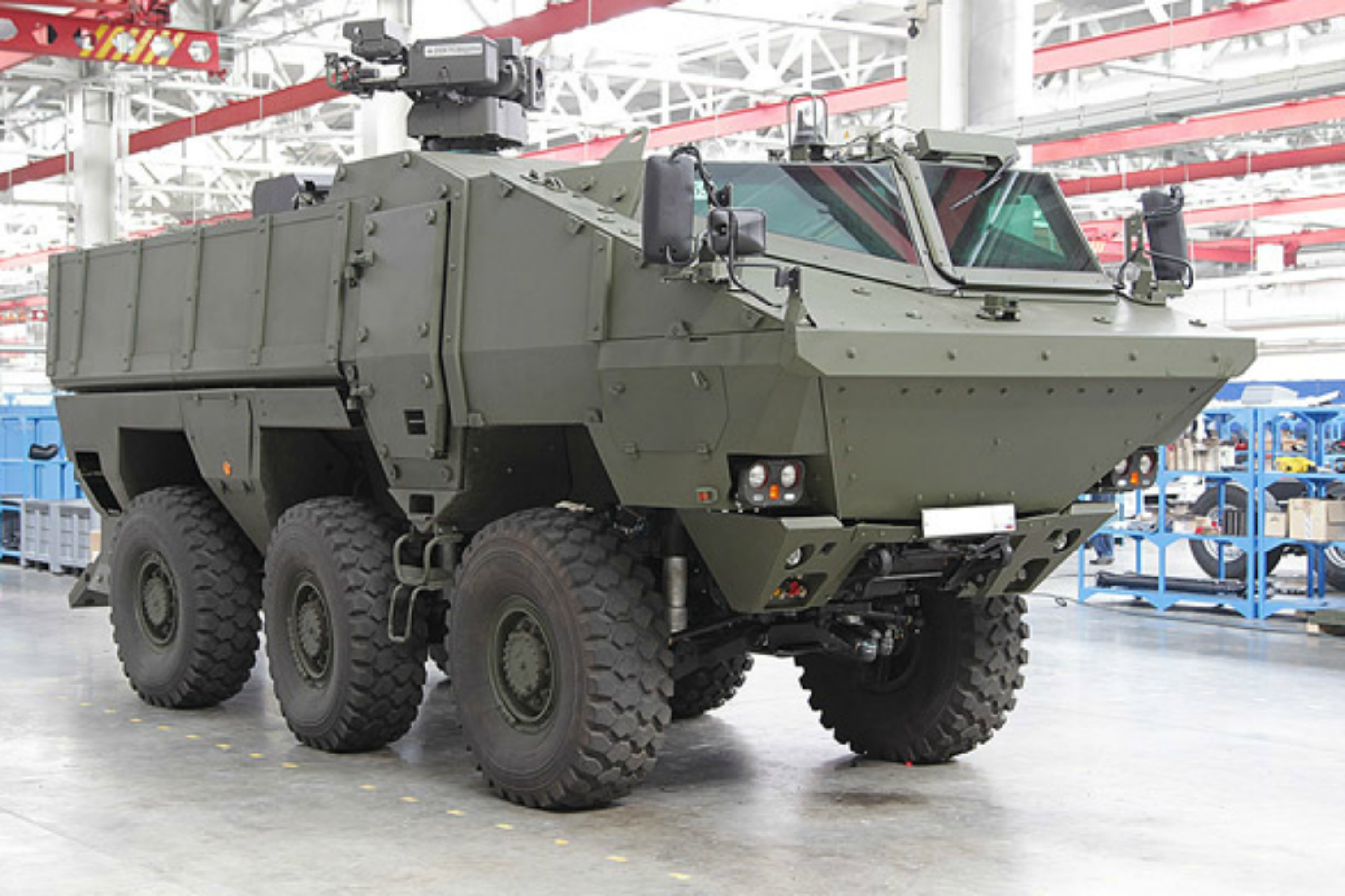 Brussels blesses merger between Daimler and Russian military vehicle ...