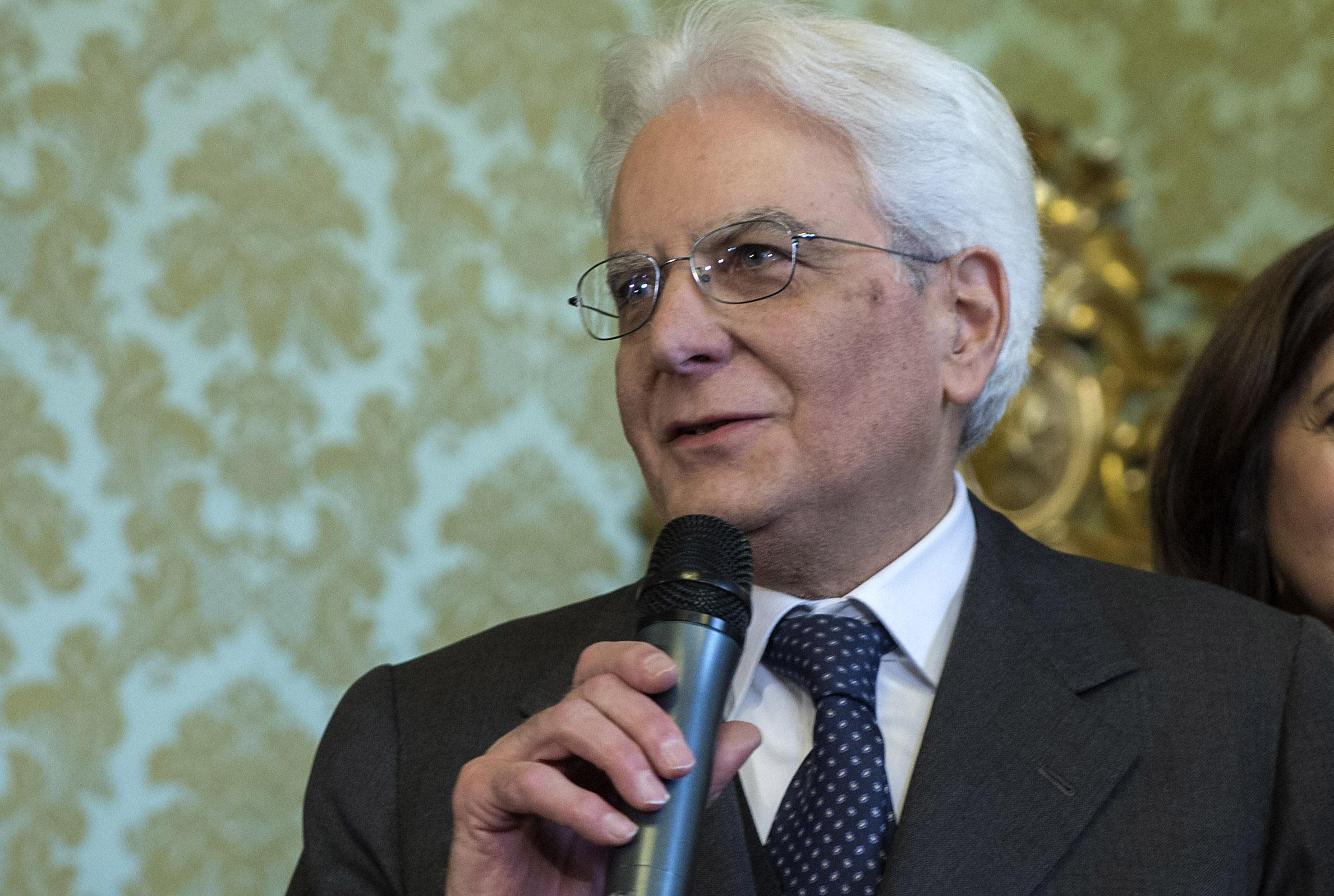 Sergio Mattarella [Reuters]