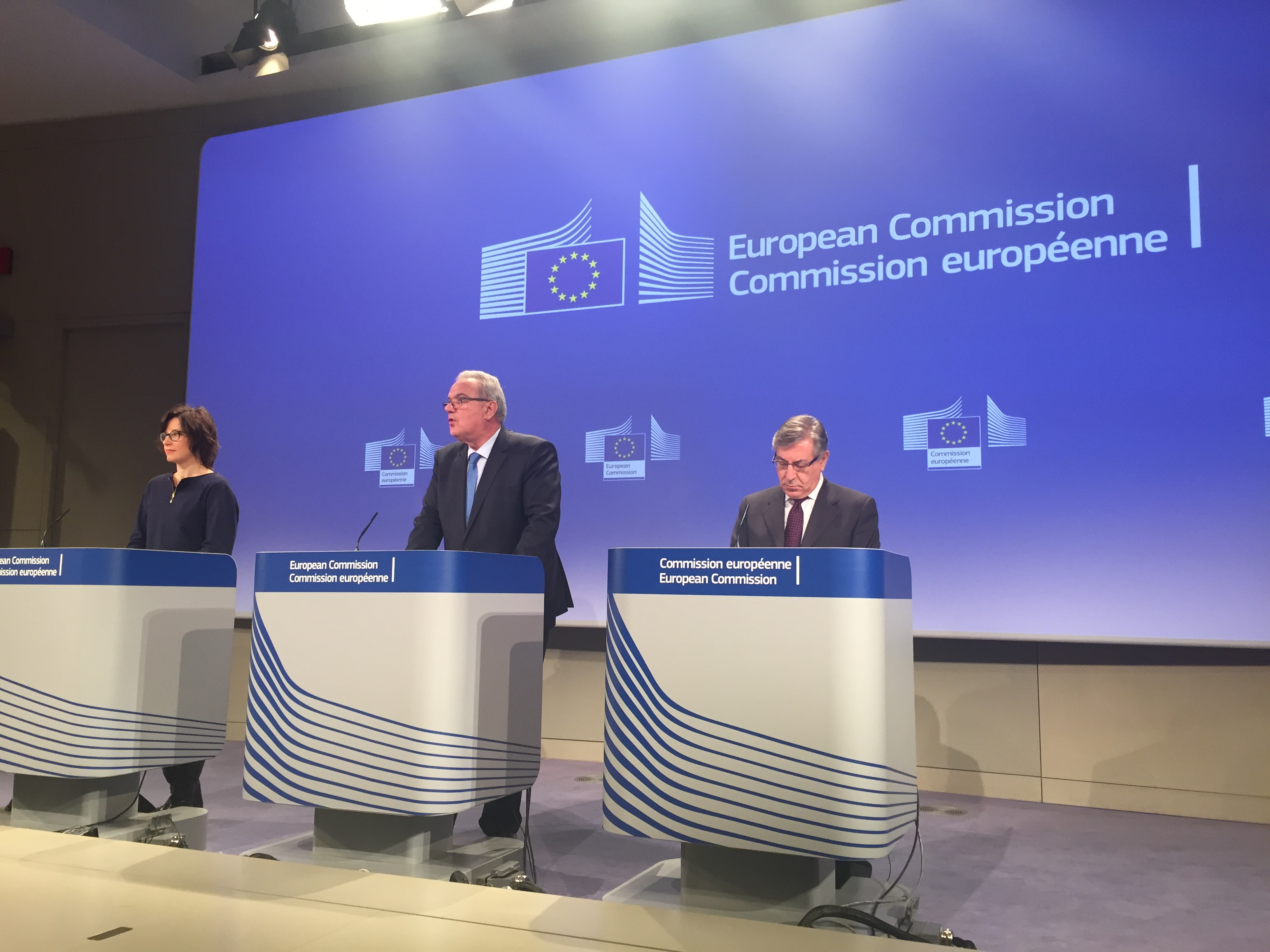 Commissioners Neven Mimica and Karmenu Vella.