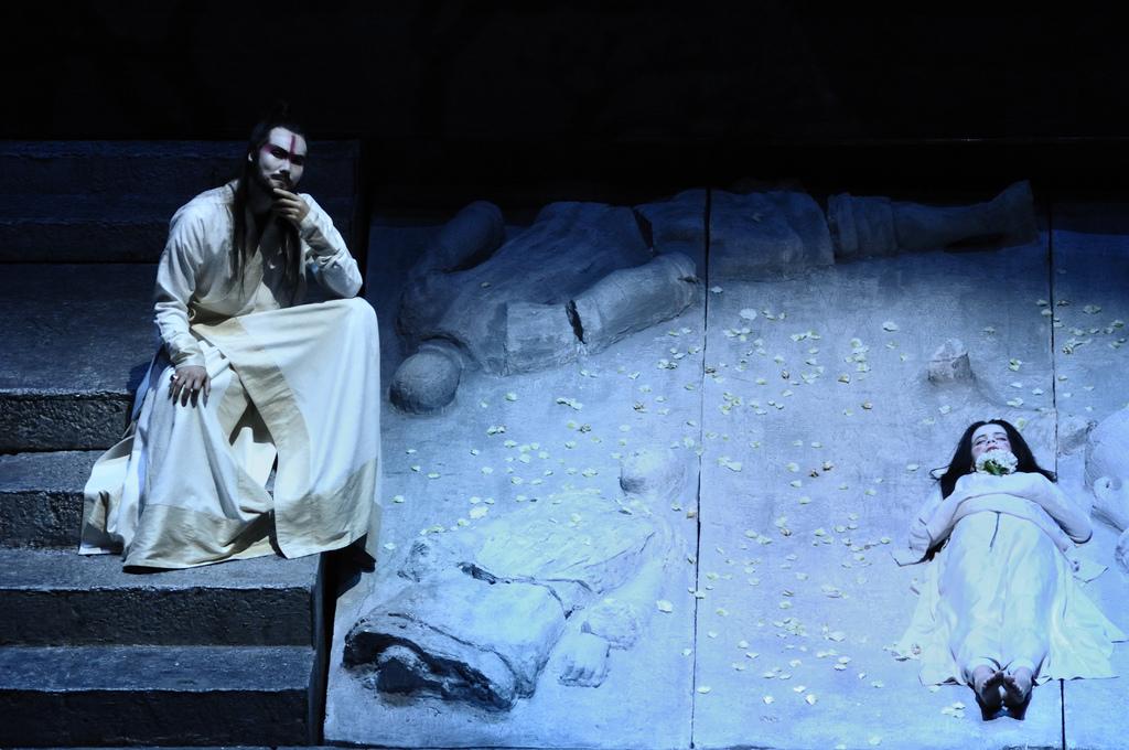 A scene from Puccini's opera Turandot