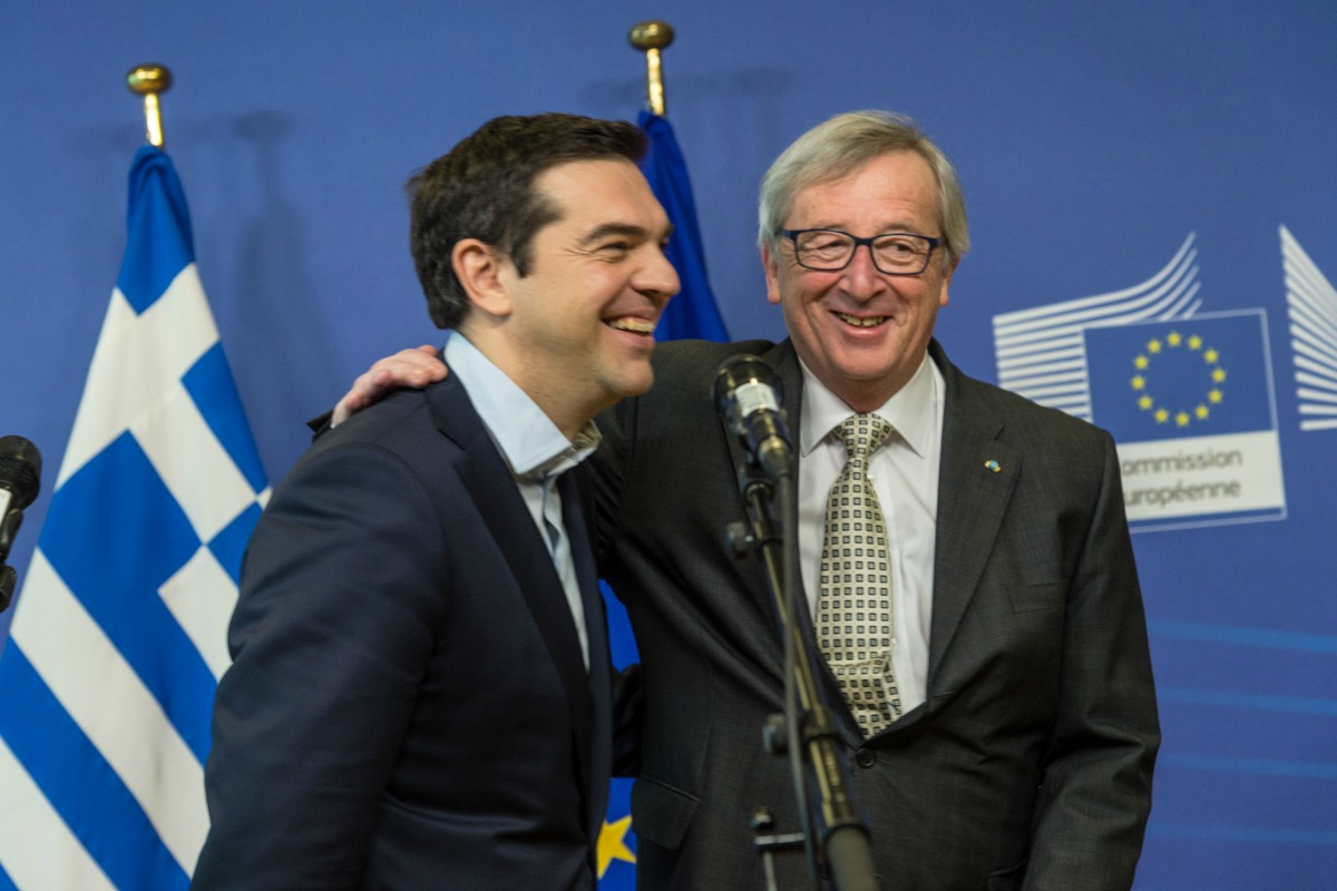 Tsipras and Juncker