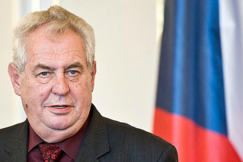 Miloš Zeman. [Czech Radio].