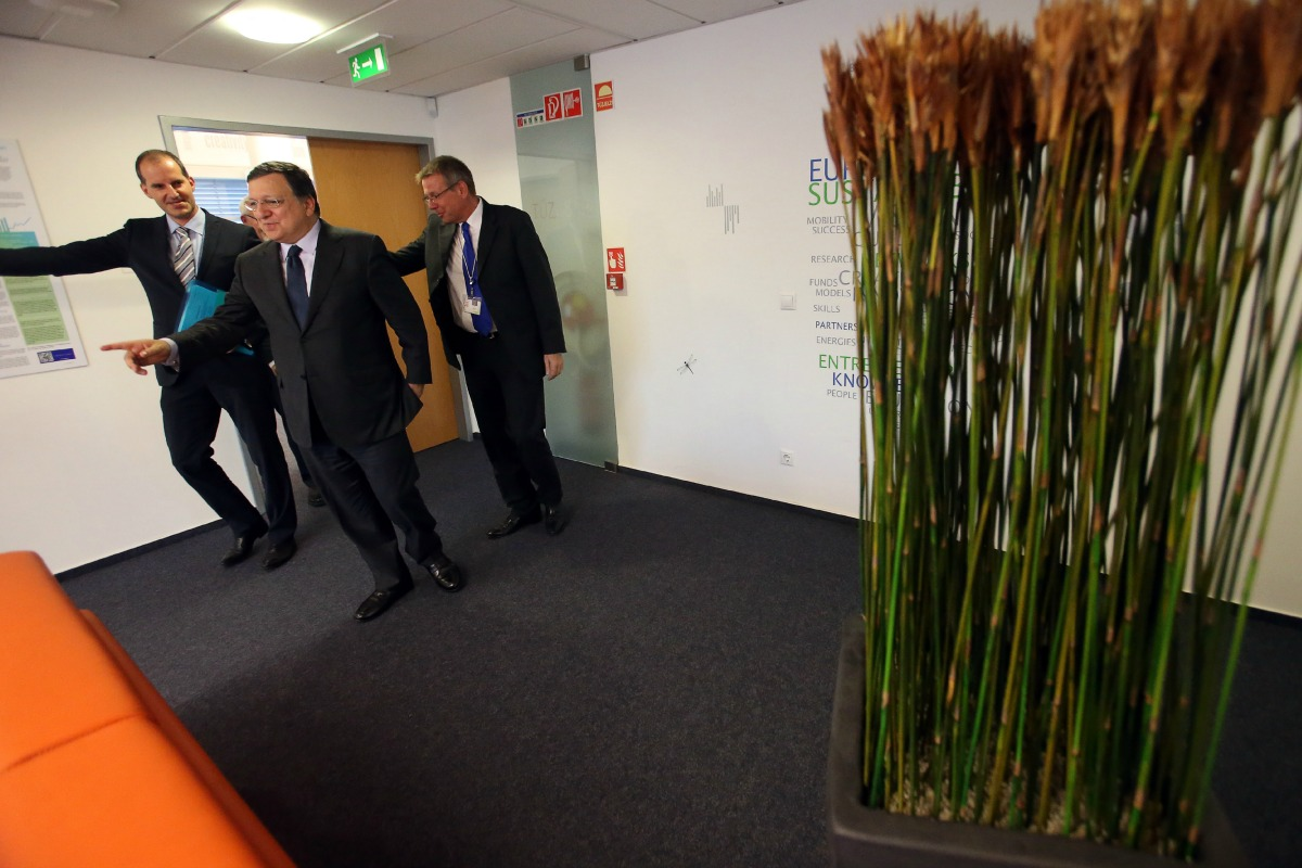 José Manuel Barroso at the EIT