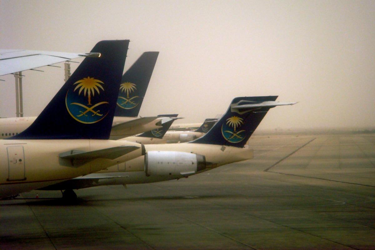 Saudi Arabian airlines planes