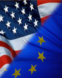 EU-US flags