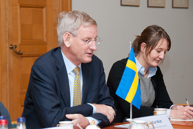 Former Swedish foreign minister Carl Bildt is reportedly on the blacklist