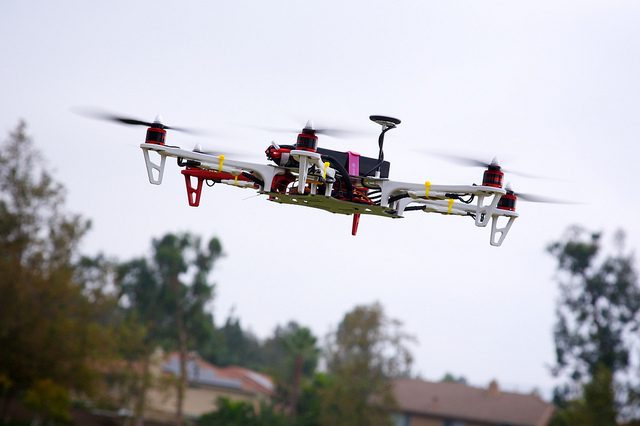 Civil drones are used by European businesses for agriculture, energy and in other industries.